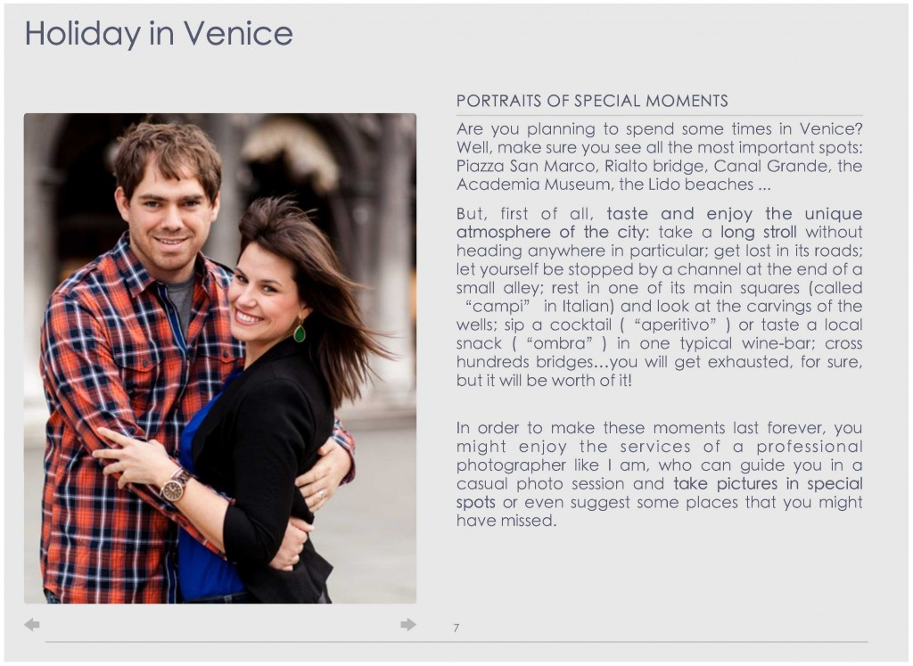 pagina 4 ebook photographer in Venice