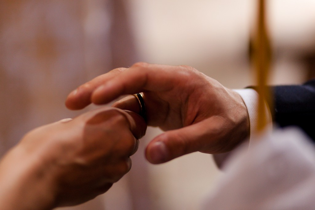 scambio anelli fotografia matrimonio