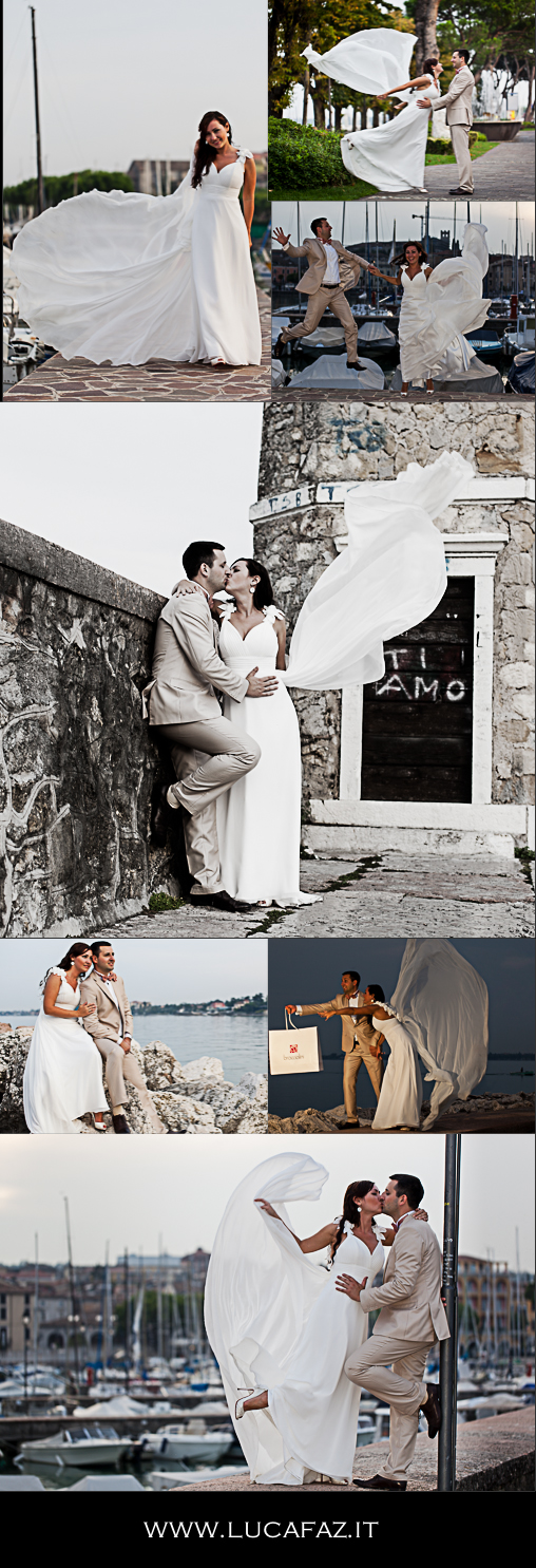 inspiration board for honeymoon photo service