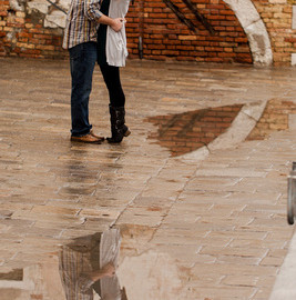 High water in Venice: avoid it thanks to an app or enjoy it during a photo shooting!